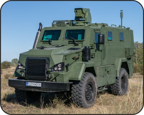 RDO-3221 KOMONDOR Light Armoured Vehicle