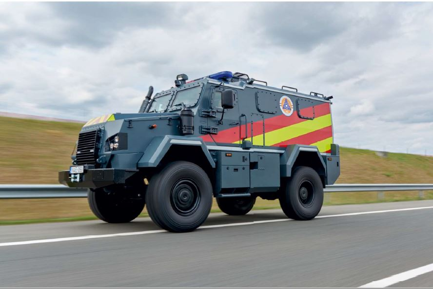 RDO-3921 KOMONDOR Radiation-Shielded Emergency Vehicle