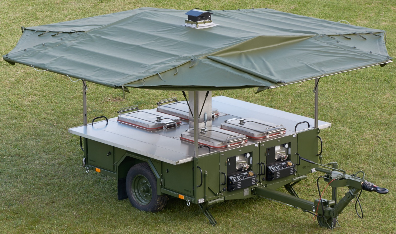 Modular Field Kitchen Trailer