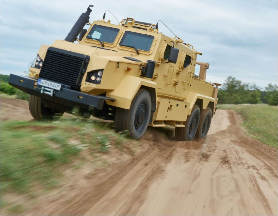 RDO 3932 Armoured recovery vehicle