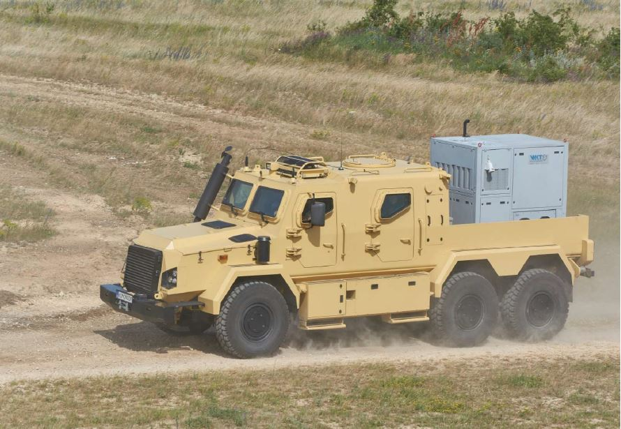 RDO 3932 Armoured transport vehicle